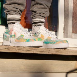 Hydro Dip Nike Air Force 1